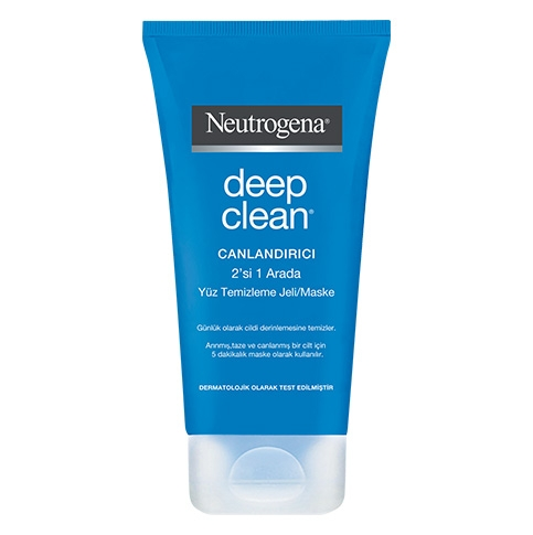 Deep Clean® Canlandırıcı 2'si 1 Arada Yüz Temizleme Jeli