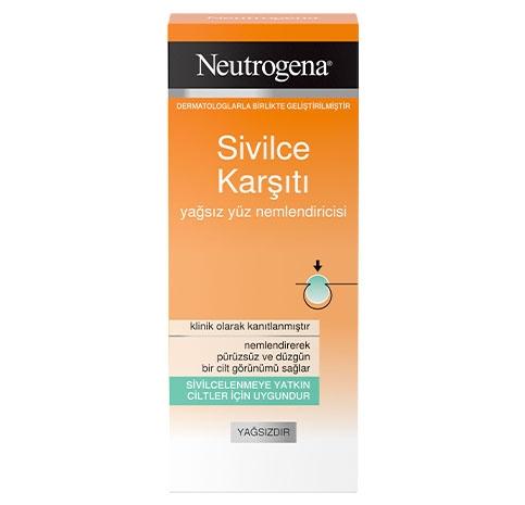 Neutrogena® Sivilce Karşıtı Yağsız Yüz Nemlendiricisi