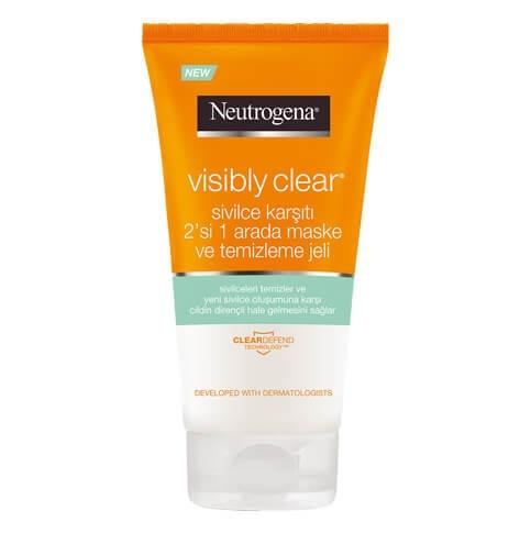 Visibly Clear® 2'si 1 Arada Maske ve Temizleme Jeli