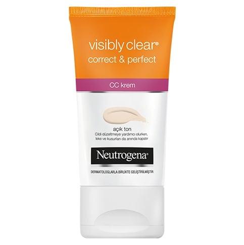 Visibly Clear Correct & Perfect CC Krem Açık Ton