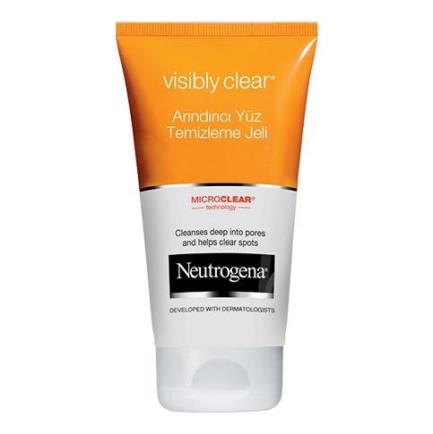 Visibly Clear® Arındırıcı Yüz Temizleme Jeli