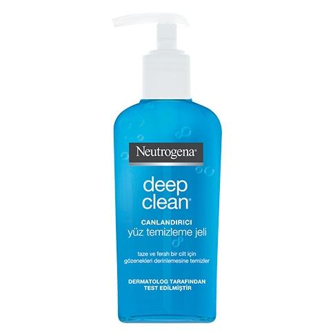 Deep Clean® Canlandırıcı Yüz Temizleme Jeli