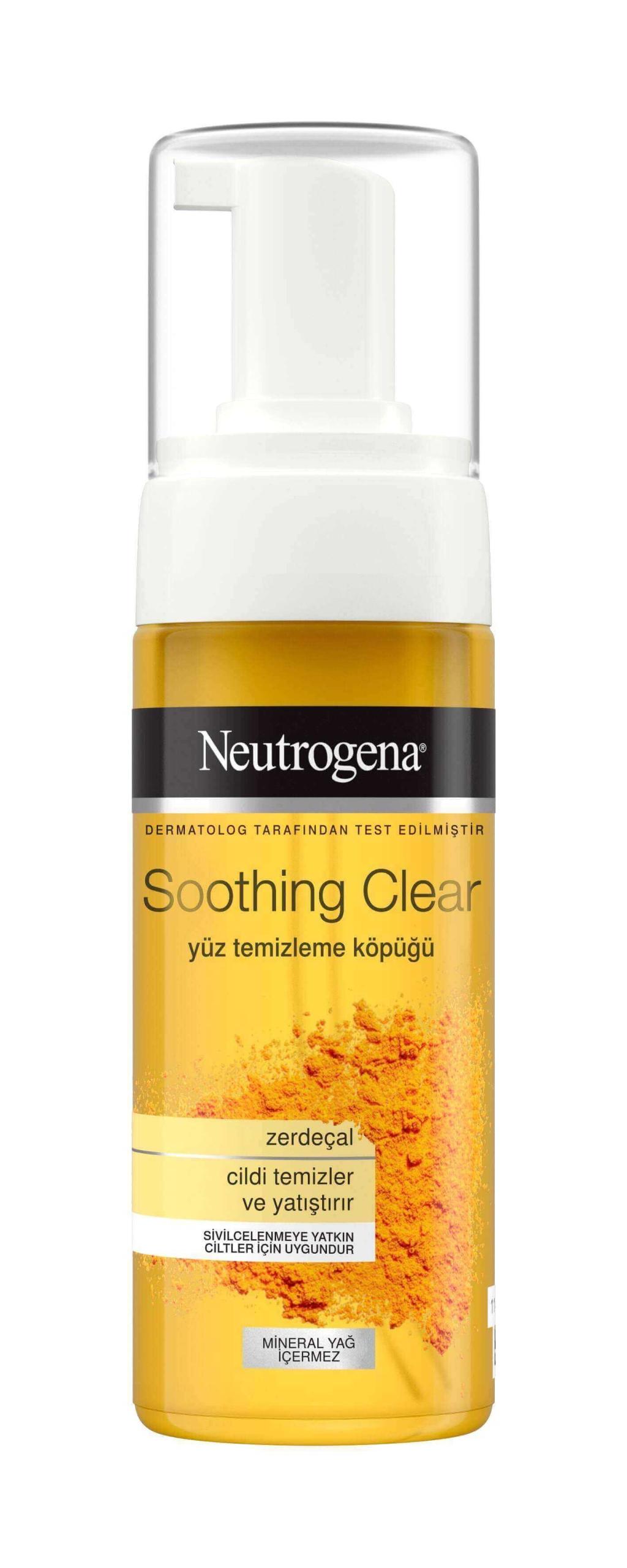 Neutrogena Soothing Clear Yüz Temizleme Köpüğü